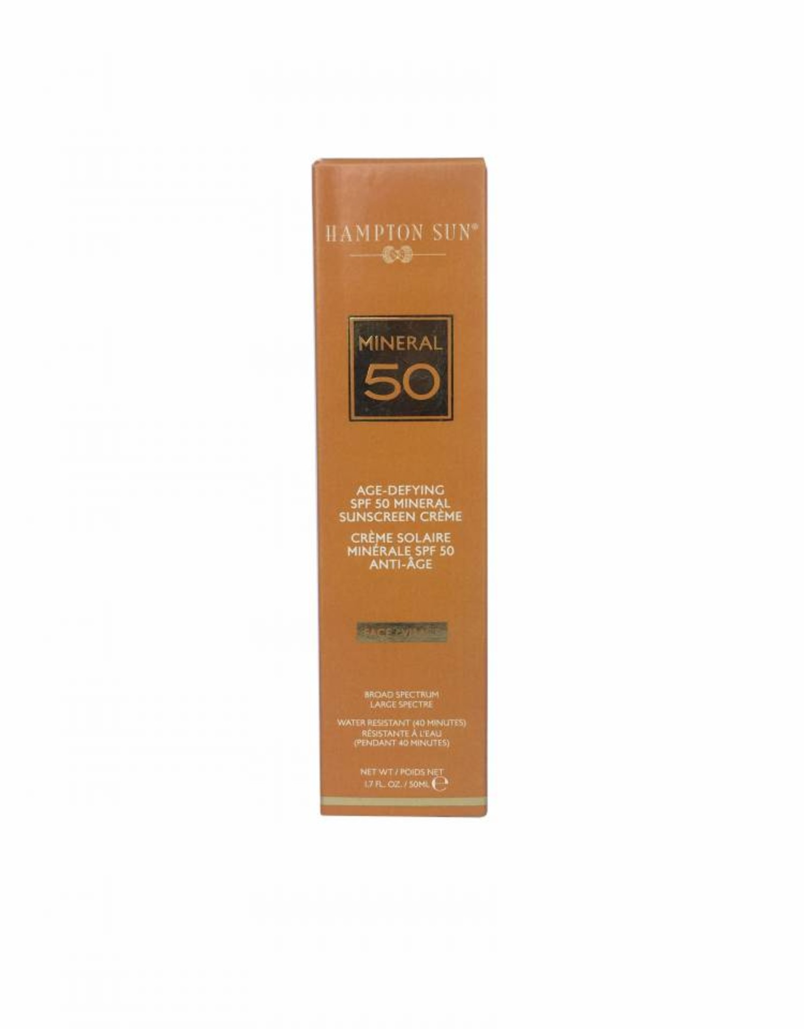 Hampton Sun Age Defying SPF 50 Mineral Creme