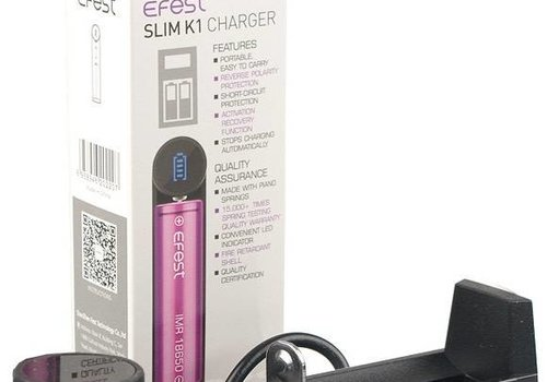 Efest Efest SLIM K1 Single Bay Intelligent Charger