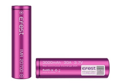 Efest Efest 20700 Battery 3100mah