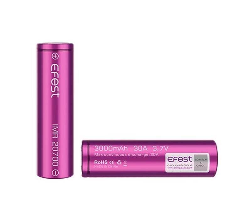 Efest 20700 Battery 3100mah