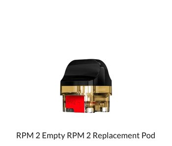RPM 2  Empty replacement Pod