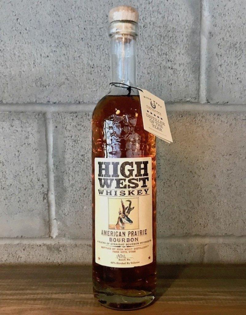 Bourbon High West, American Praire Bourbon - 750ml
