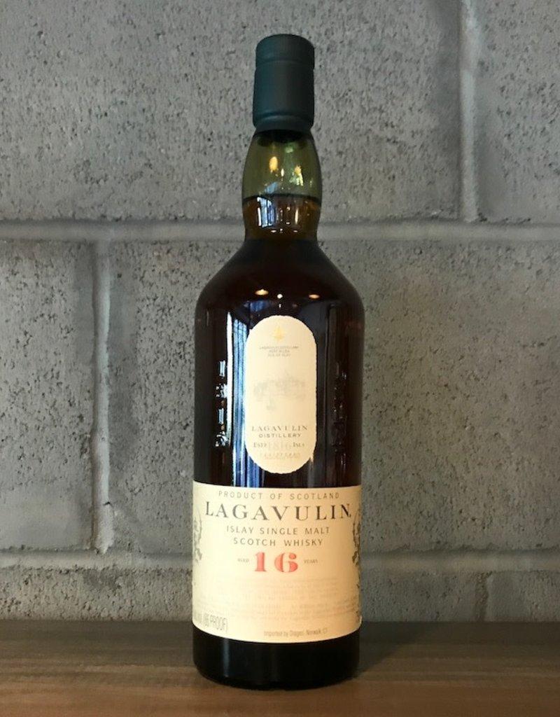 Lagavulin, 16yr Single Malt Scotch - 750mL