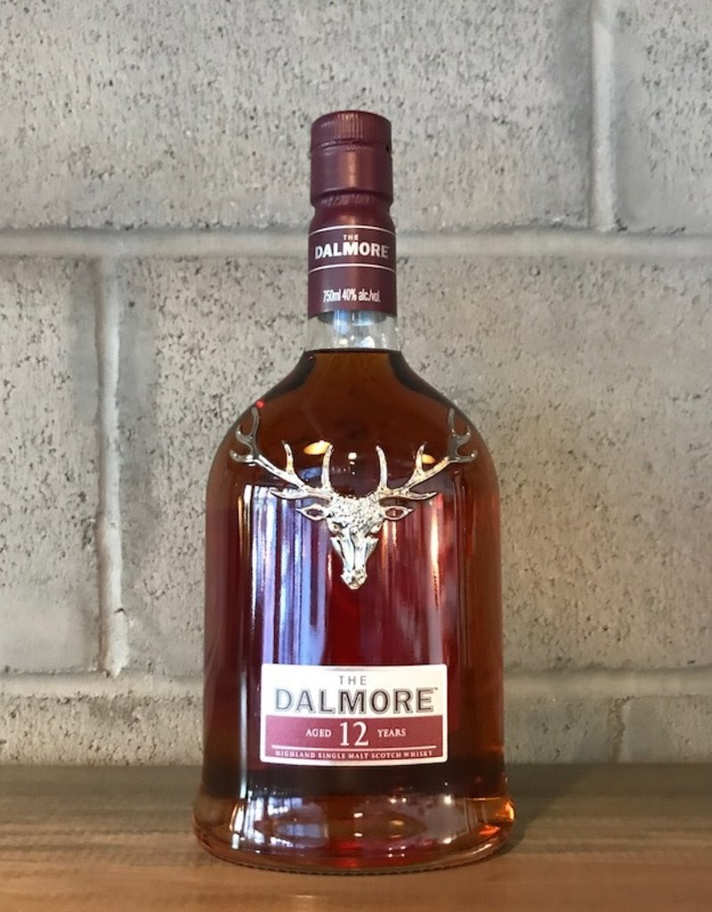 The Dalmore, Highland Scotch 12 Year - 750ml