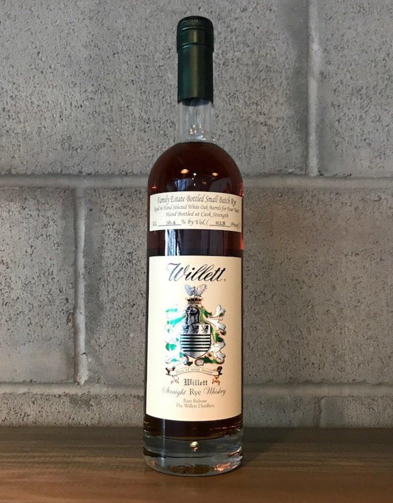 Rye Willett, 4yr Straight Rye Whiskey