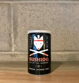 Bushido, Way of the Warrior Ginjo Genshu Sake Can · 180 mL