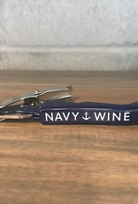 Navy Corkscrew / Wine Opener