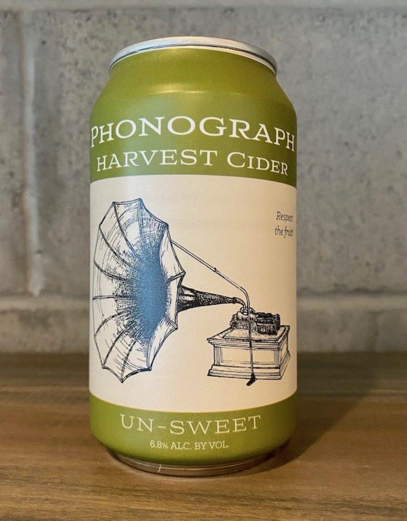 Phonograph, Harvest Cider (Dry) - 375mL