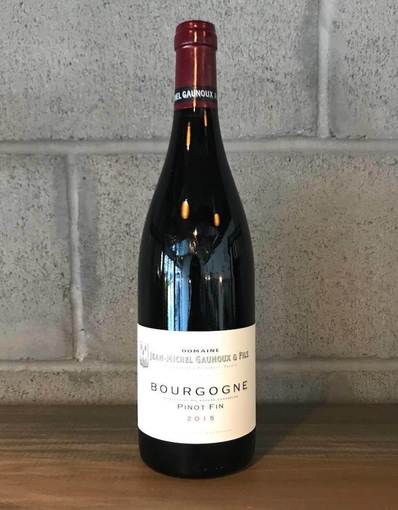 France Jean Michel Gaunoux, Bourgogne Pinot Fin 2015