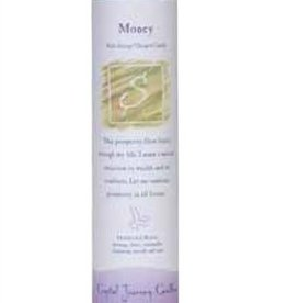 Reiki Herbal Pillar Candle - Money