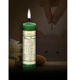 Blessed Herbal Candle - Money Draw