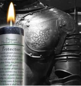 Blessed Herbal Candle - Protection