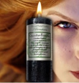 Affirmations Candle - Guardian Protector