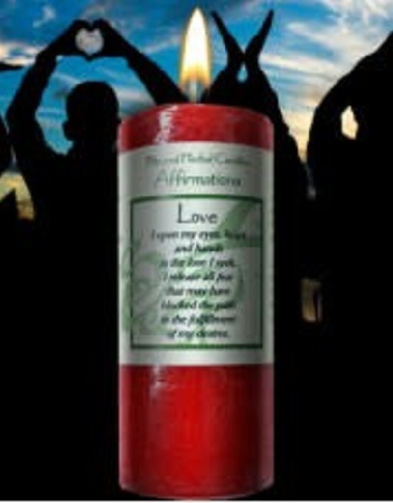 Affirmations Candle- Love