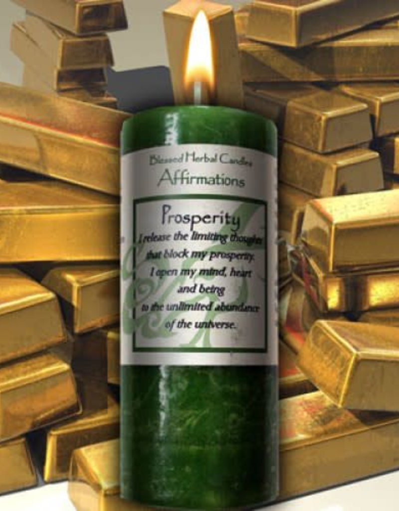 Affirmations Candle- Prosperity