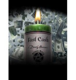 Candle - Fast Cash - Wicked Witch Mojo