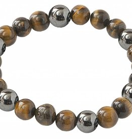 Lucky Hematite Magnetics - Protection - Tiger's Eye
