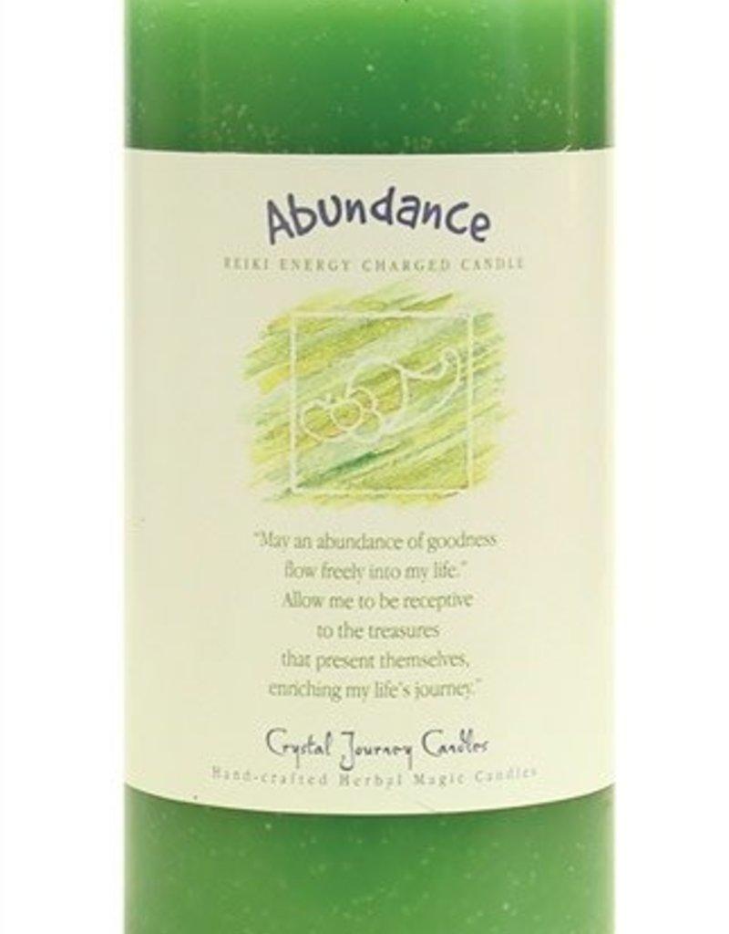 Abundance Reiki Charged Candle
