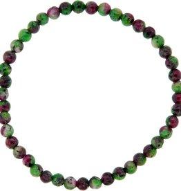 Bracelet - Ruby Zoisite