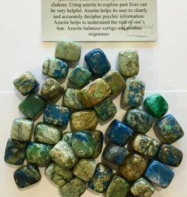 Azurite Tumble - Medium