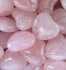Rose Quartz Hearts- Small
