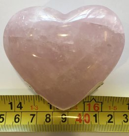 Rose Quartz Heart - 3 inches