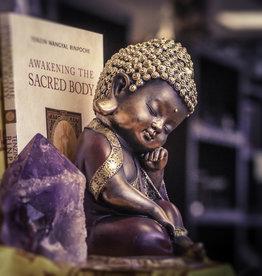 Statue - Thoughtful Baby Buddha