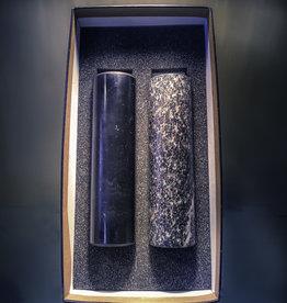 Shungite and Talcochlorite Healing Cylinders