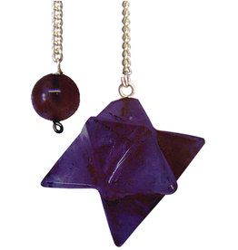 Pendulum - Merkaba Amethyst