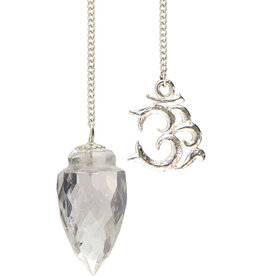 Pendulum - Cone Quartz Light Diffuser with OM Symbol