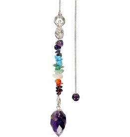 Pendulum - Chakra Goddess - Amethyst