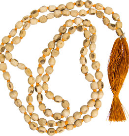 Mala - Natural Tulsi Seeds Knotted
