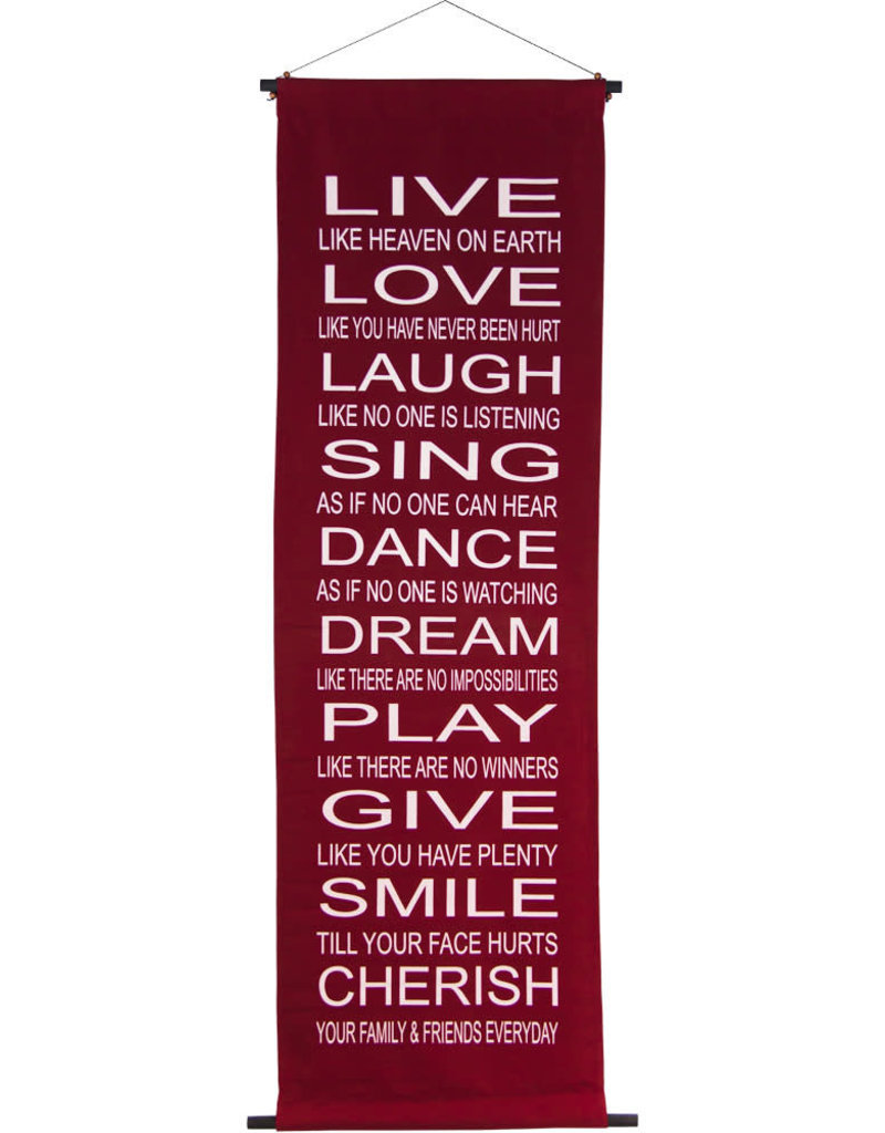 Banner - Live Love Laugh