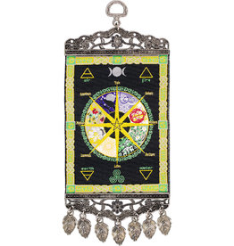 Banner - Wall Hanging Carpet - Pagan Wheel