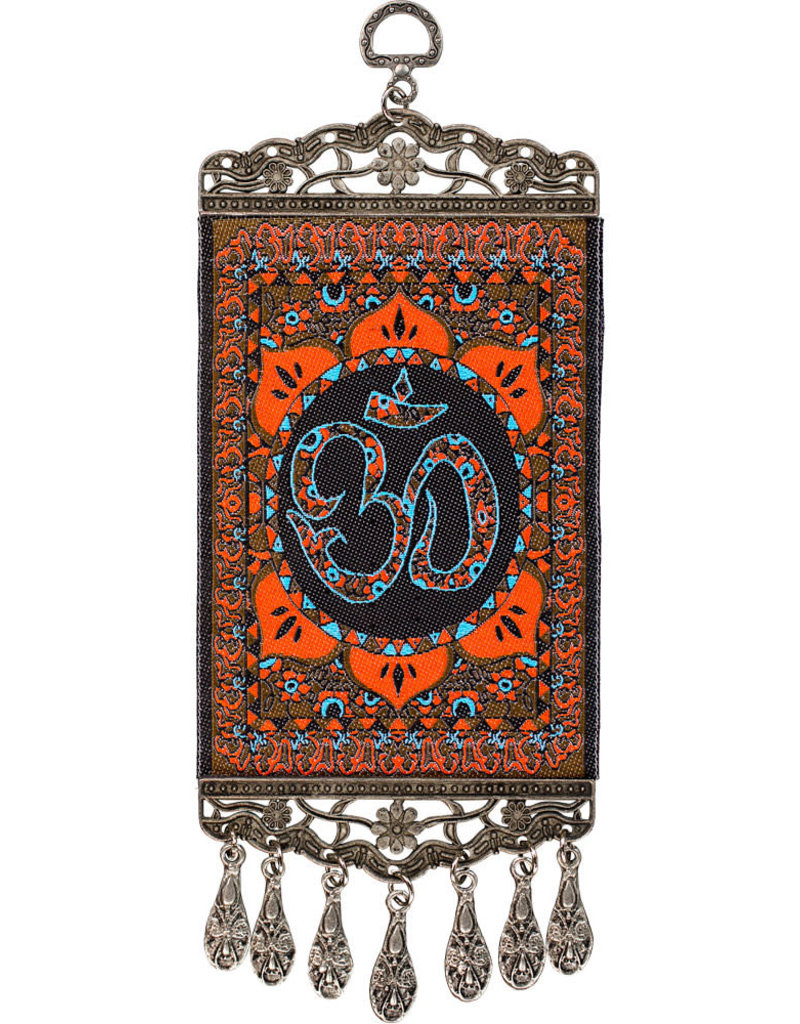 Banner - Wall Hanging Carpet with Om Symbol