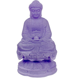 Statue - Frosted Meditating Buddha Feng Shui