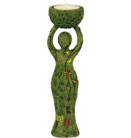 Statue - Nurturing Goddess T-Light Holder