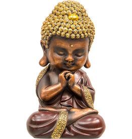 Statue - Praying Baby Buddha