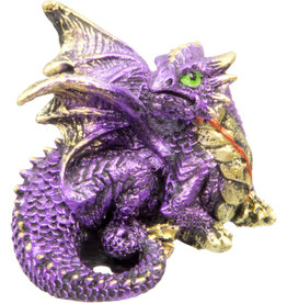 Statue - Purple Dragon Figurine