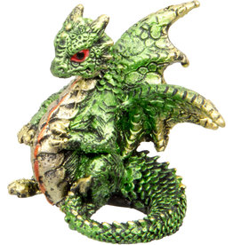Statue - Green Dragon Figurine
