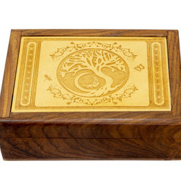 Box - Wooden Tree of Life