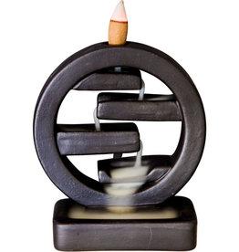 Incense Holder - Ceramic Backflow - Feng Shui