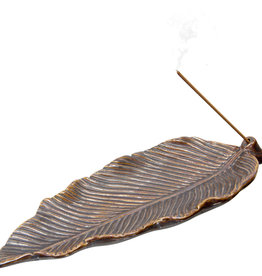 Incense Holder - Ceramic Leaf