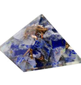 Orgone Pyramid - Lapis - Third Eye Chakra