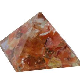 Orgone Pyramid - Carnelian - Sacral Chakra