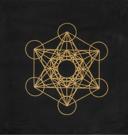 Crystal Grid - Metatron Printed Cotton