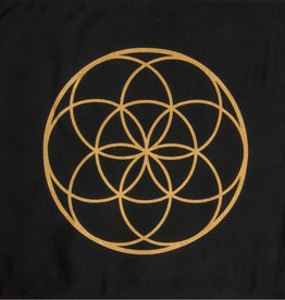 Crystal Grid - Seed of Life Printed Cotton
