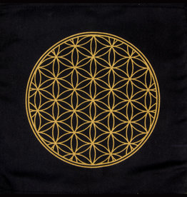 Crystal Grid - Flower of Life Printed Cotton