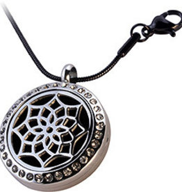 Crystal Lotus Aromatherapy Locket