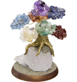 Bonsai Gemstone Wishing Tree - Chakras